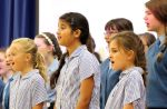 The Chanber Choir sing beautifully
