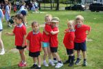 The Red Team at Sports Day