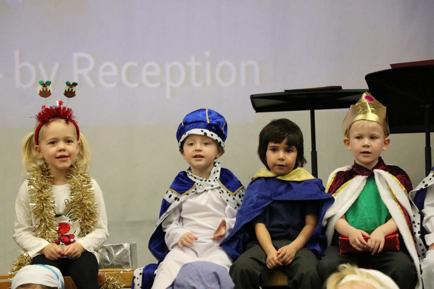 Boys at Babington are Wise Men in Nativity