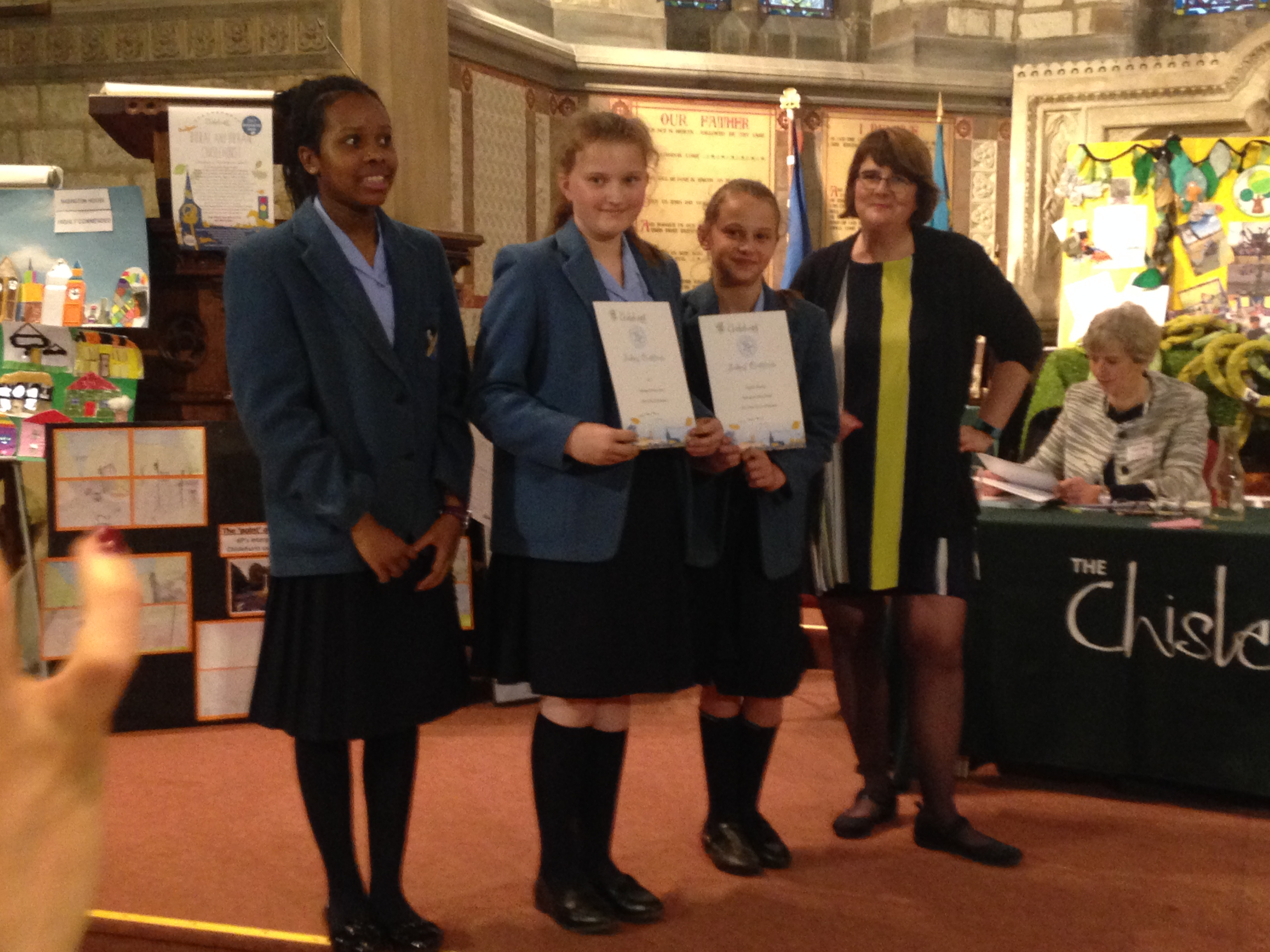 Prize Winners at the Chislehurst Environmental Awards