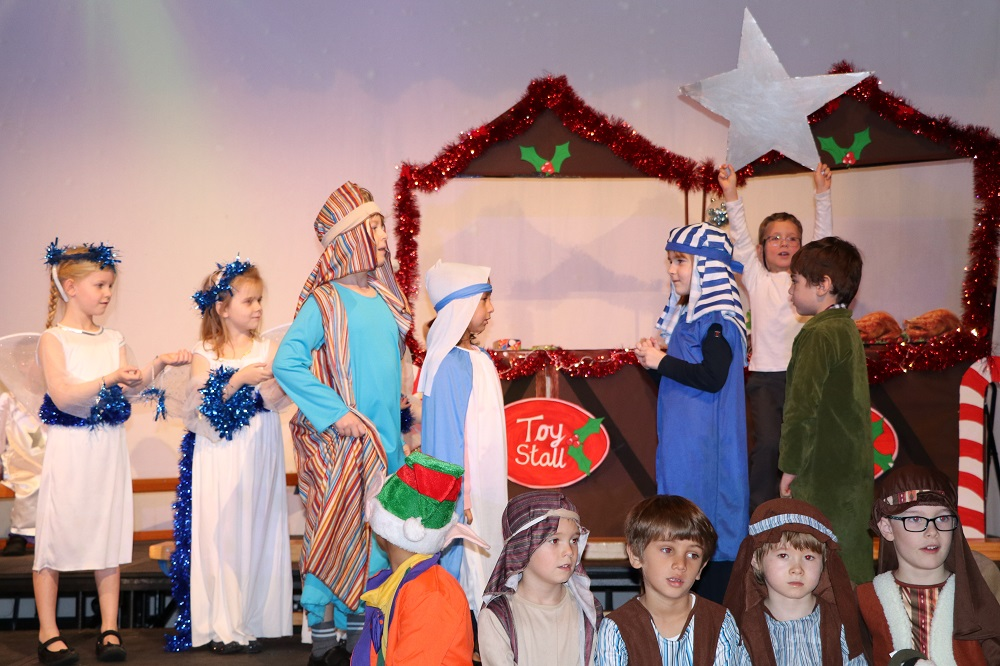Year 1 & 2 Nativity Play at Babington House School